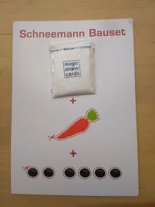 Schneemann Bauset