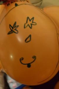 Halloween-Luftballon 1