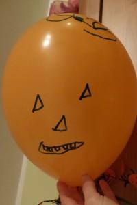 Halloween-Luftballon 2