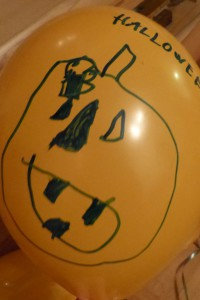 Halloween-Luftballon 3