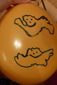 Halloween-Luftballon 4