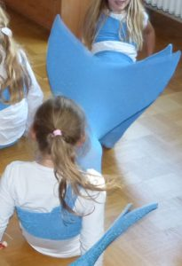 Meerjungfrauen-Test-Klatschen