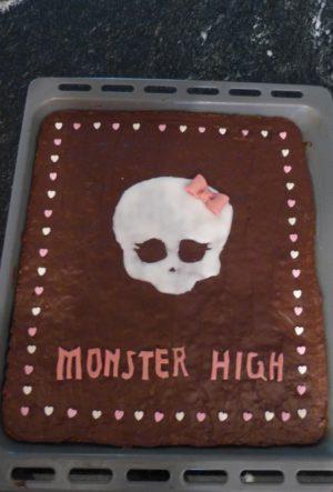 Monster High-Kuchen2