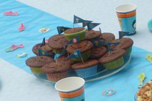 Oktonautnen-Muffins