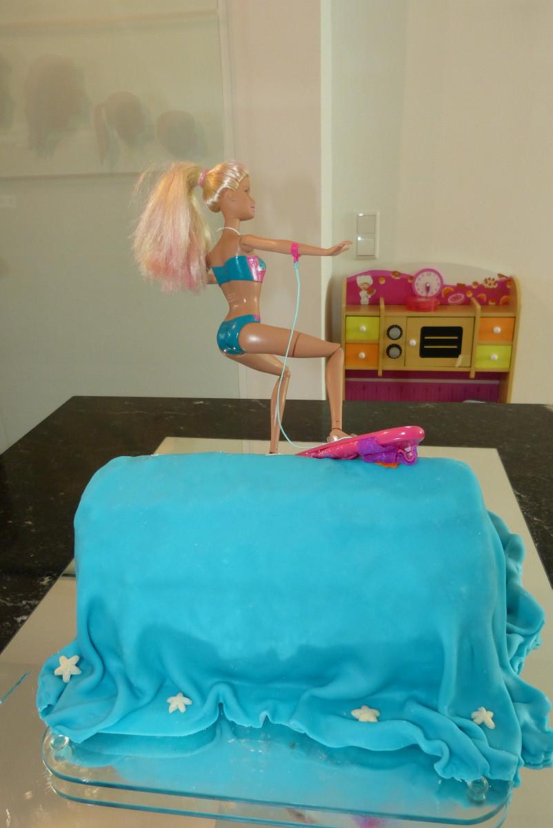 Merliah-Kuchen hinten