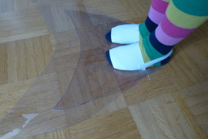 9m - Flosseninnenleben am Fuß