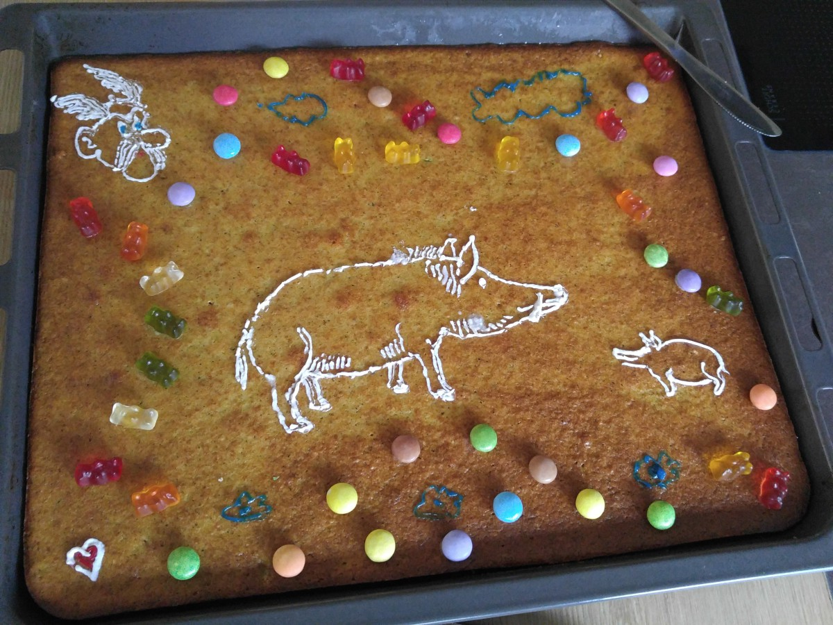 Wildschwein-Kuchen