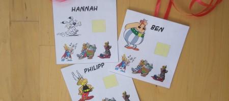 Schnitzeljagd à la Asterix und Obelix