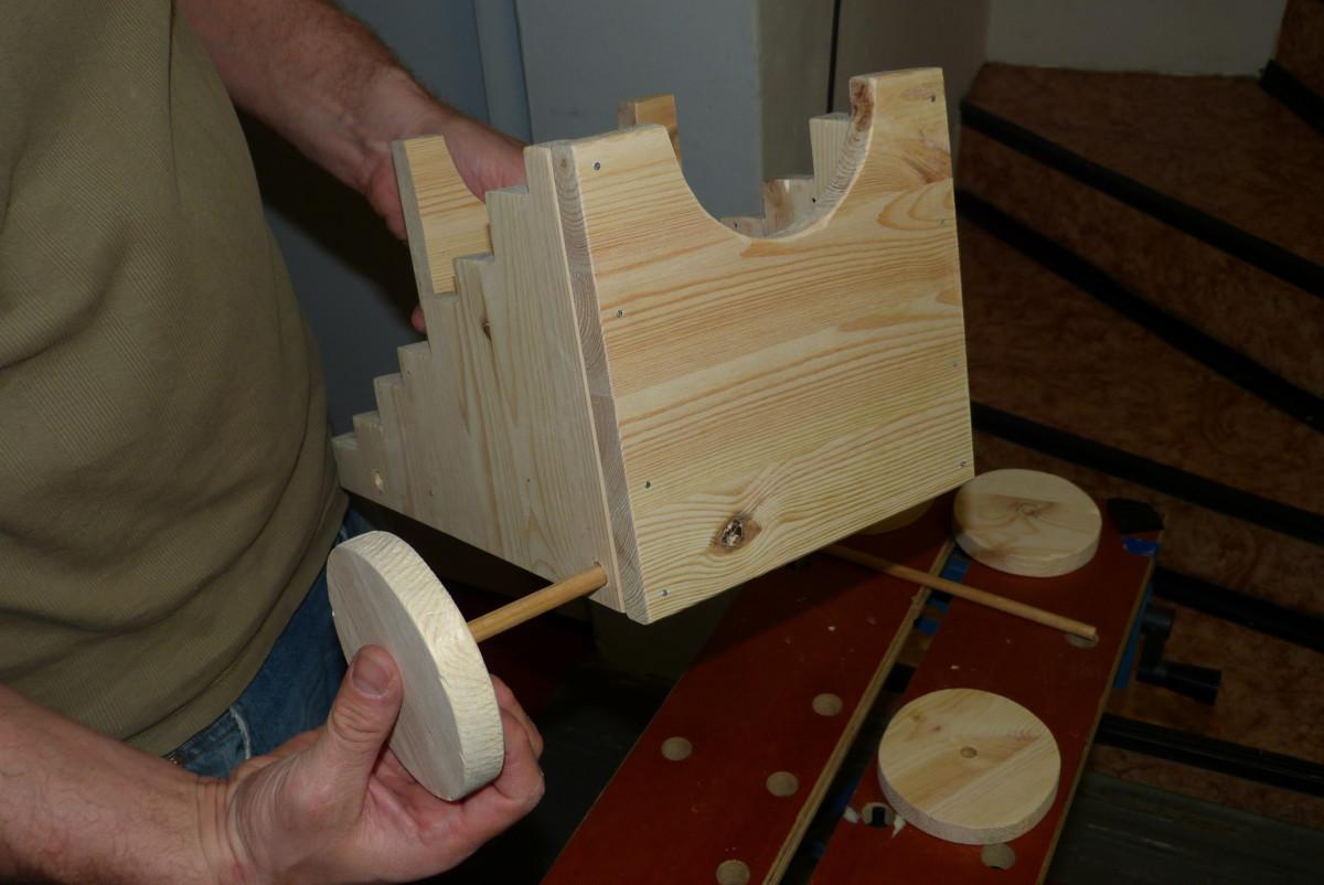 Kanone für kinder selber bauen bastelanleitung
