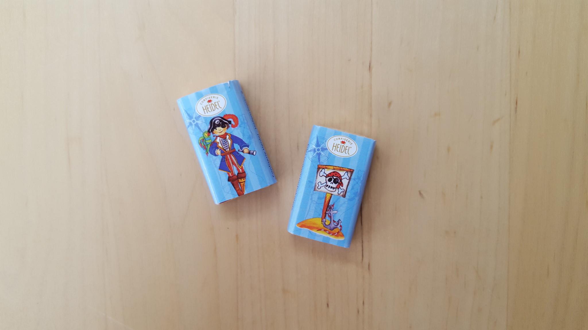 Piraten-Schokolade