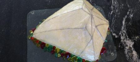 Diamant-Kuchen