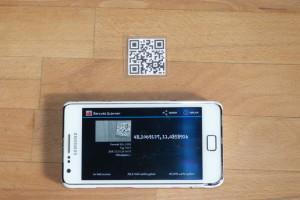 QR-Codes auslesen mit Smartphone