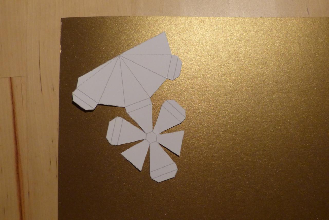 diamanten aus papier basteln bastelanleitung partiesserie. Black Bedroom Furniture Sets. Home Design Ideas