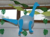 Brontosaurus-Luftballon
