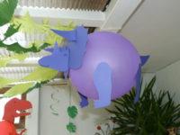 Triceratops-Luftballon