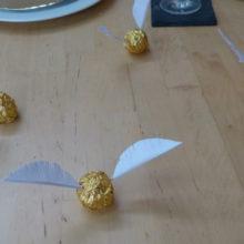 goldene Schnatze