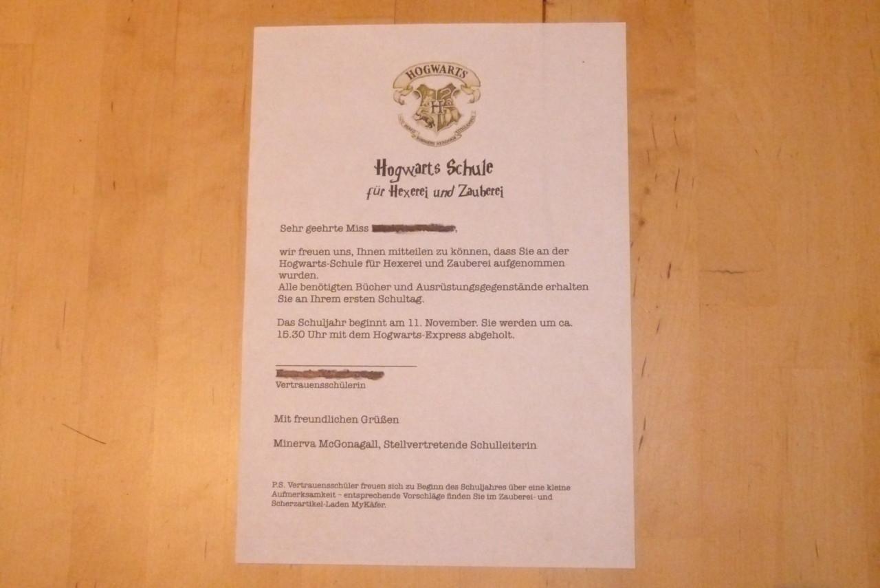 Hogwarts-Brief