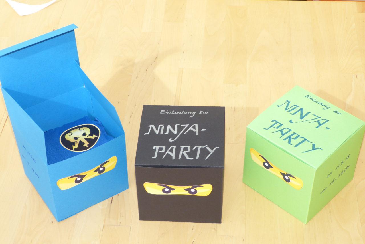 Ninja-Einladung