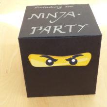 Ninja-Einladung_Zusammenbauen