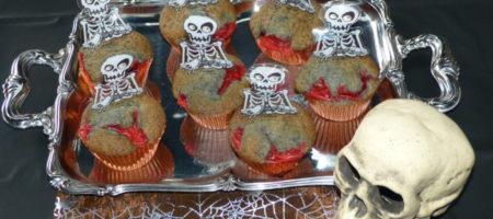 Blutende-Skelett-Muffins