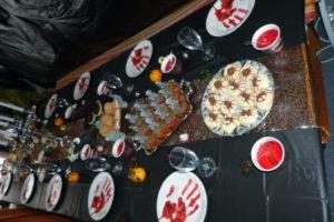 Halloween-Tischdeko