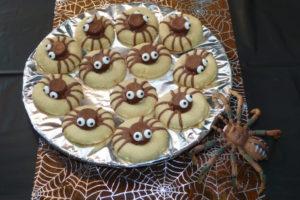 Spinnen-Plätzchen...