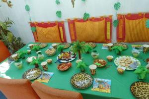 Dschungel-Tisch