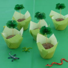 Palmen-Muffins