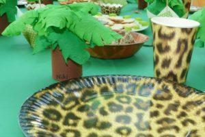Palmen Tischkarte