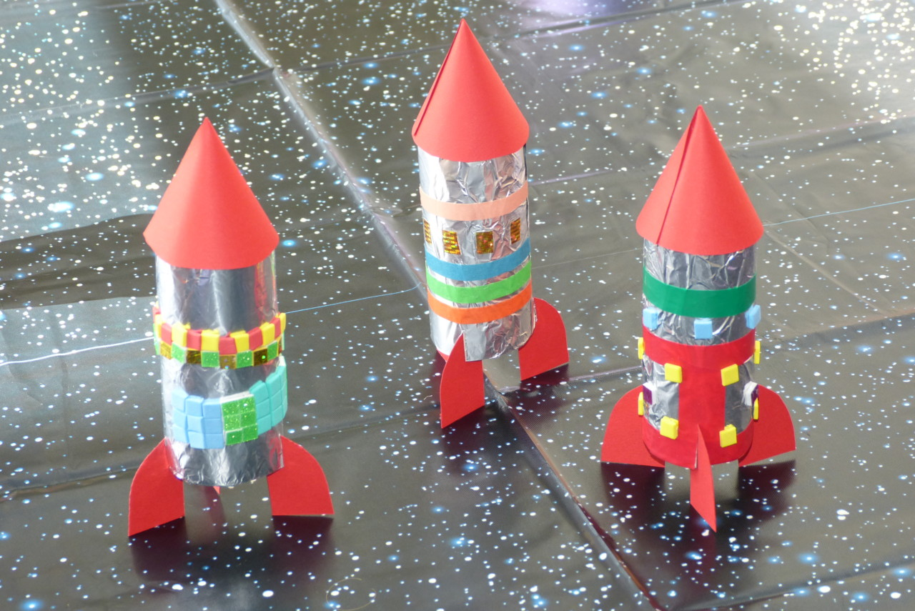 Klorollen-Raketen
