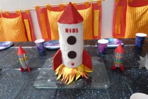 Raketen-Kuchen