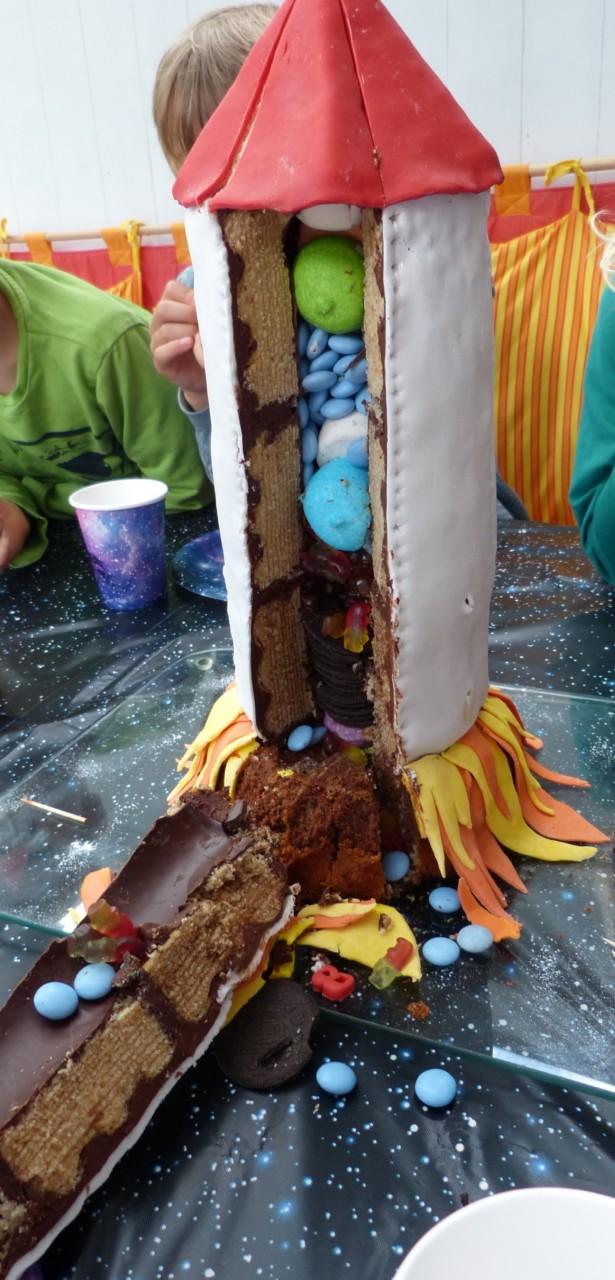 Raketen Kuchen innen2